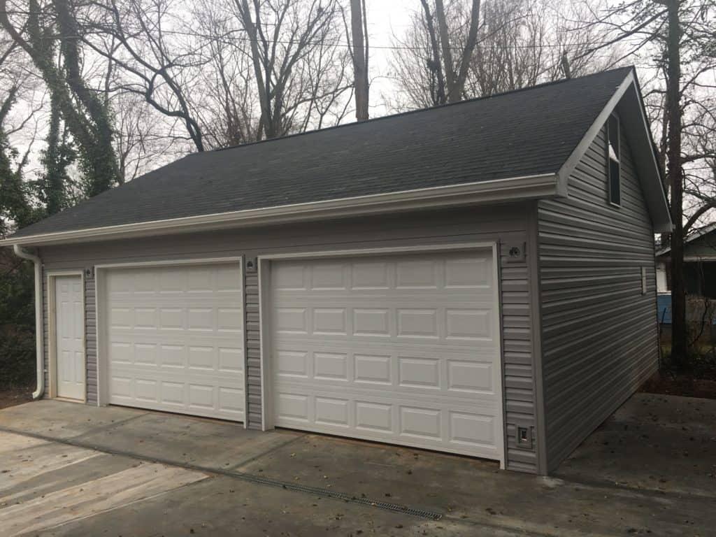 Detached Garage Construction In South Carolina